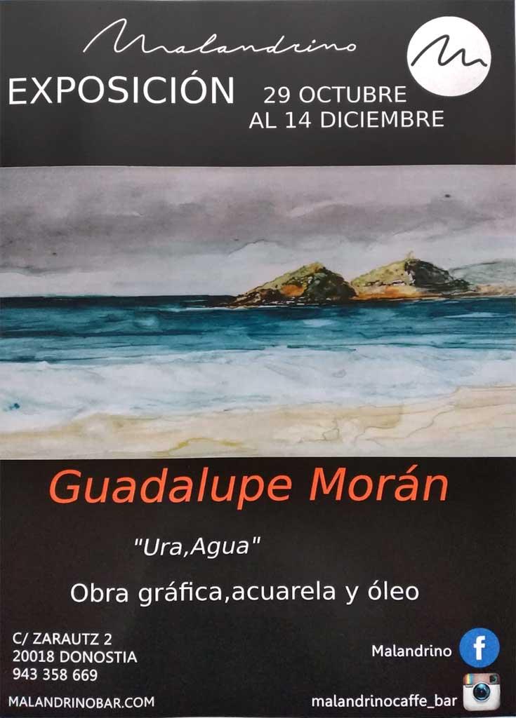 Guadalupe Morán expone en Malandrino