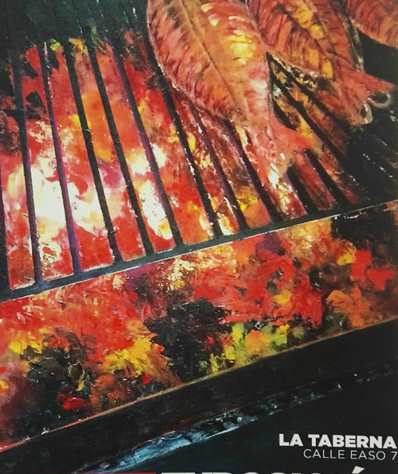 Exposición de Txirrita en La Taberna