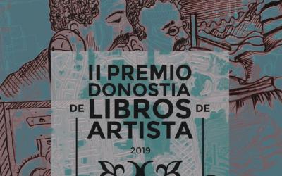 arteliburu21 convoca el II PREMIO DONOSTIA DE LIBROS DE ARTISTA