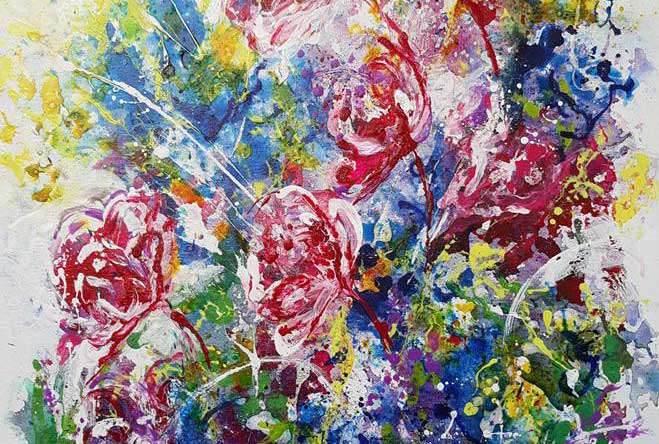 Arantza Aguirre, pinturas en Vía Fora