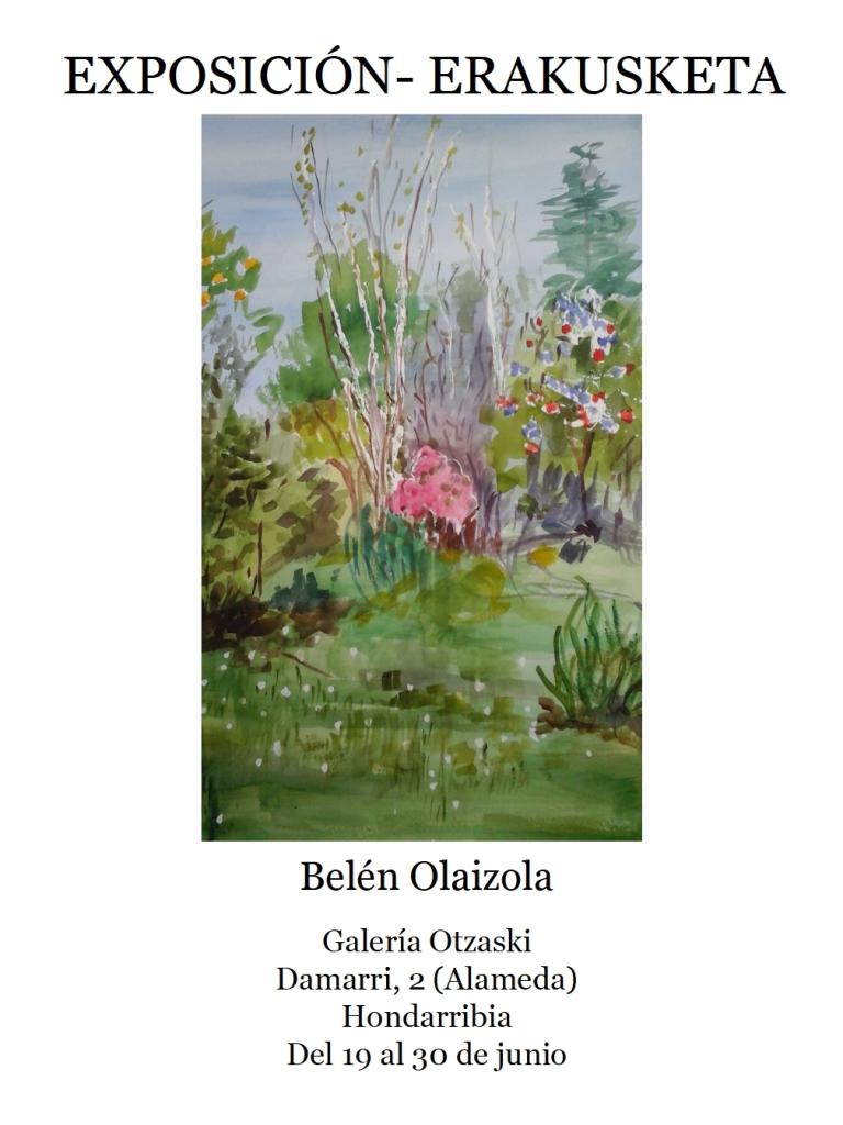 Belén Olaizola en Otzazki
