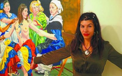Exposición de SorayArte 'Munduko emakumeak'