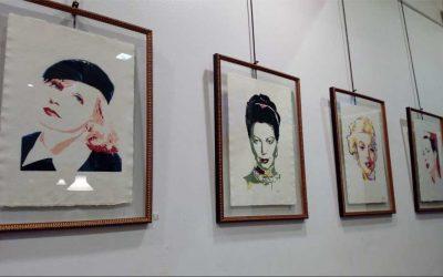 Maite Arrieta en el Café Santana