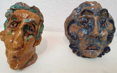 Exposición de grabado y cerámica 2019
