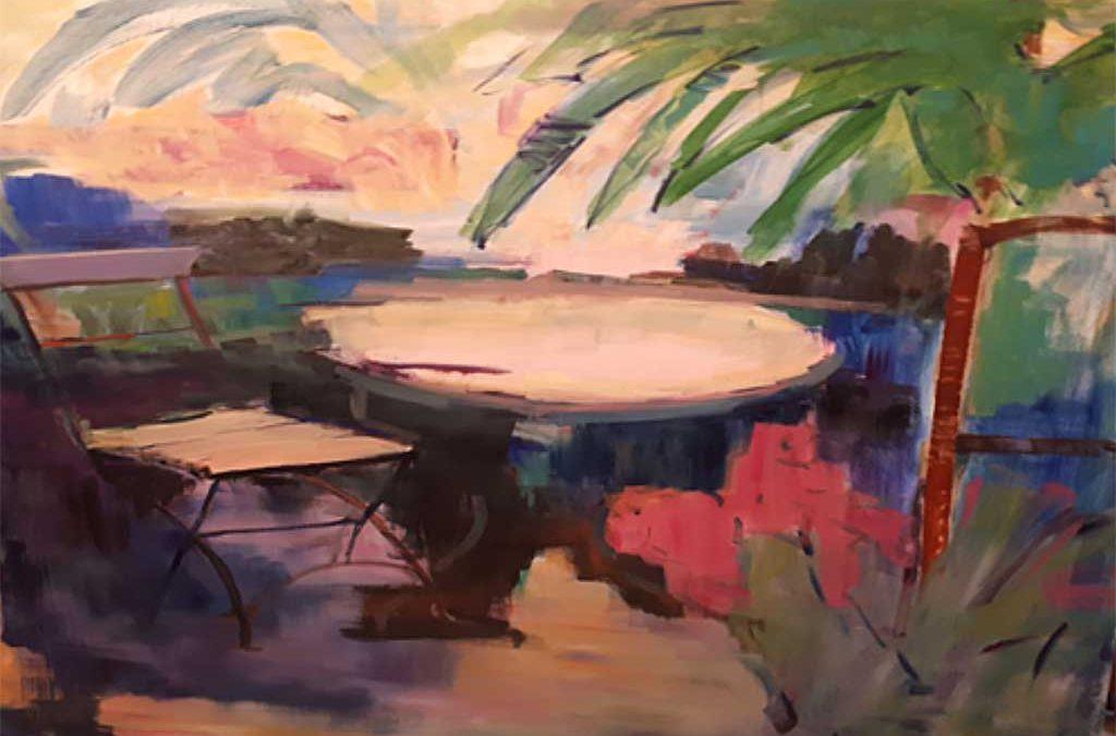 Master Class de pintura con Martxe Arana