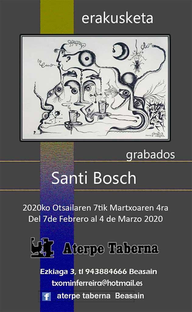 Santi Bosch en Aterpe Taberna de Beasain