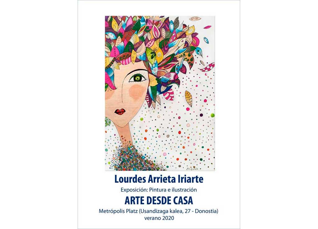 Exposición de Lourdes Arrieta en Metropolis Platz