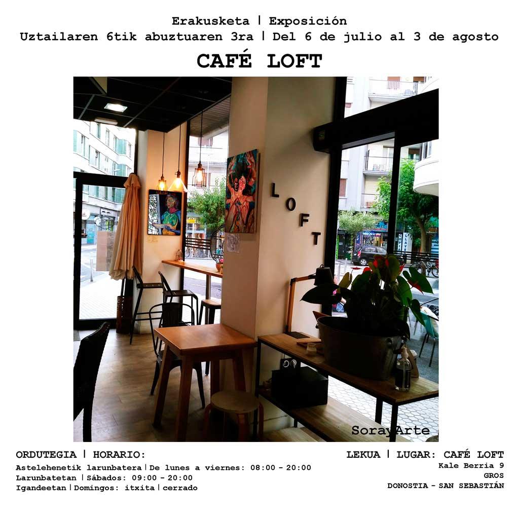 SorayArte en Café Loft