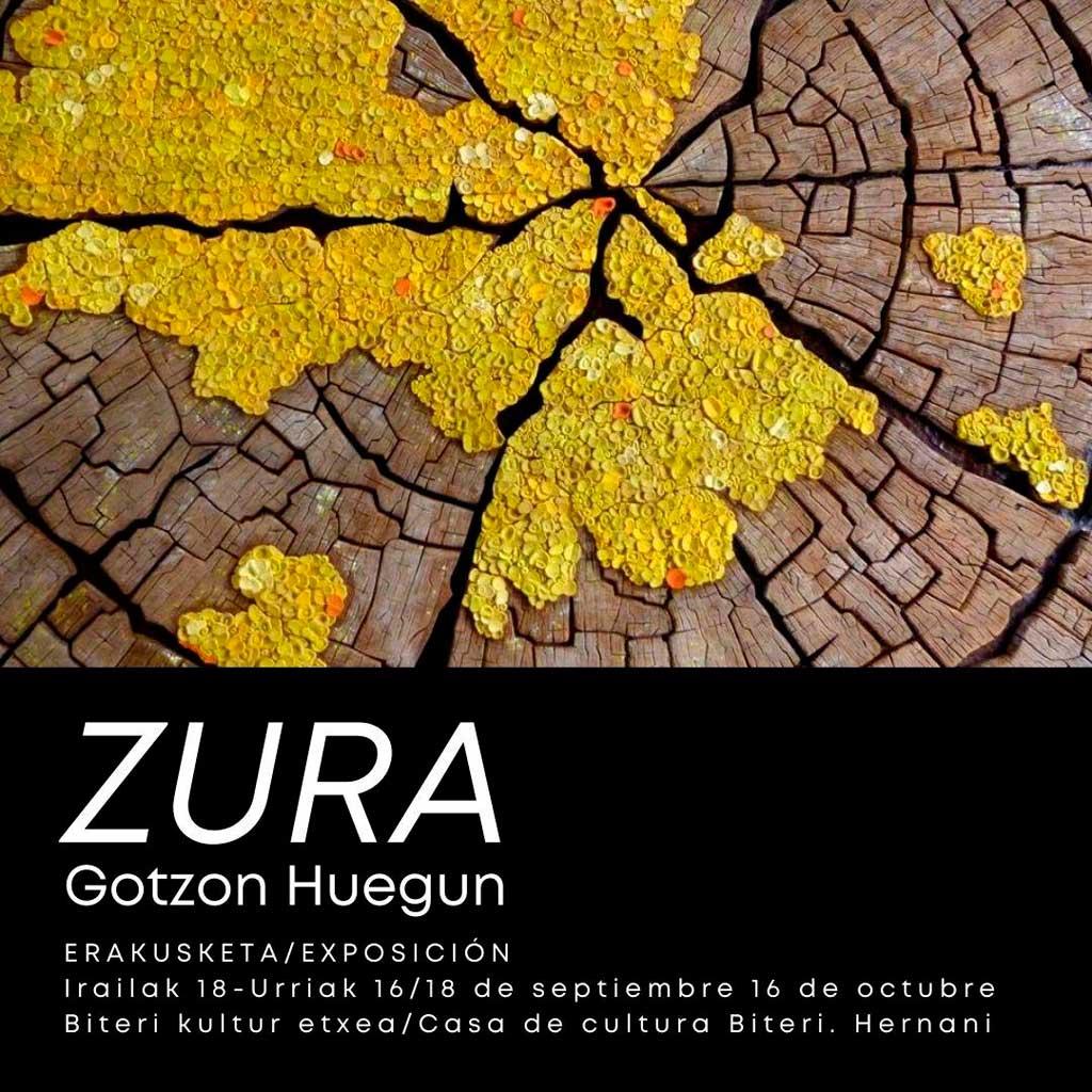 'Zura'. Exposición de Gotzon Huegun