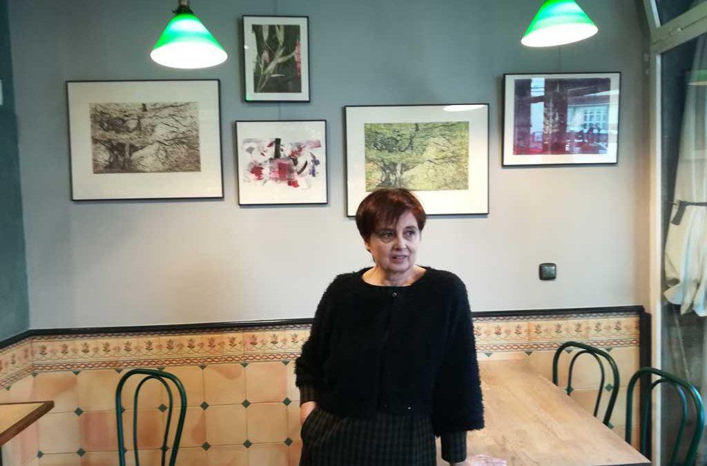 Maite Arrieta en Kide Kafetegia de Hernani