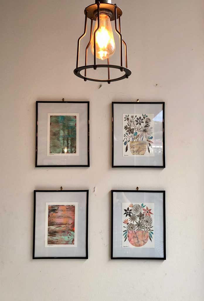 Agurne Arrieta en Cafetería Loft