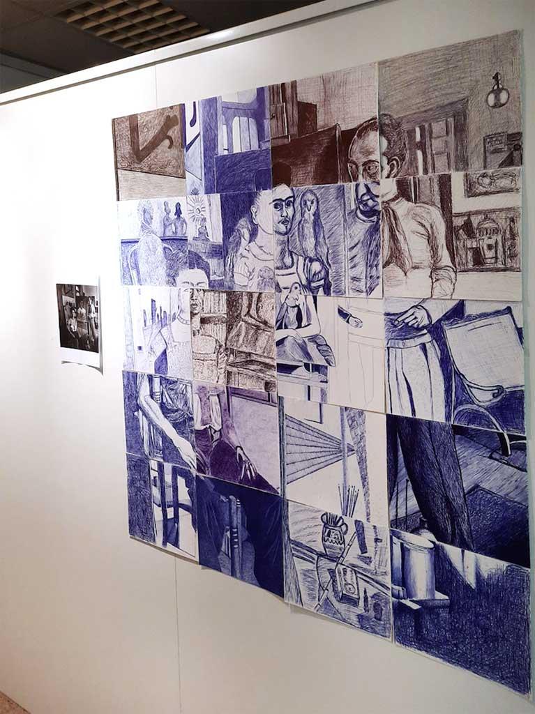 Exposición de los talleres de dibujo y pintura 2020
