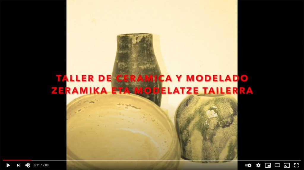 Cerámica y modelado en la Artística (video)