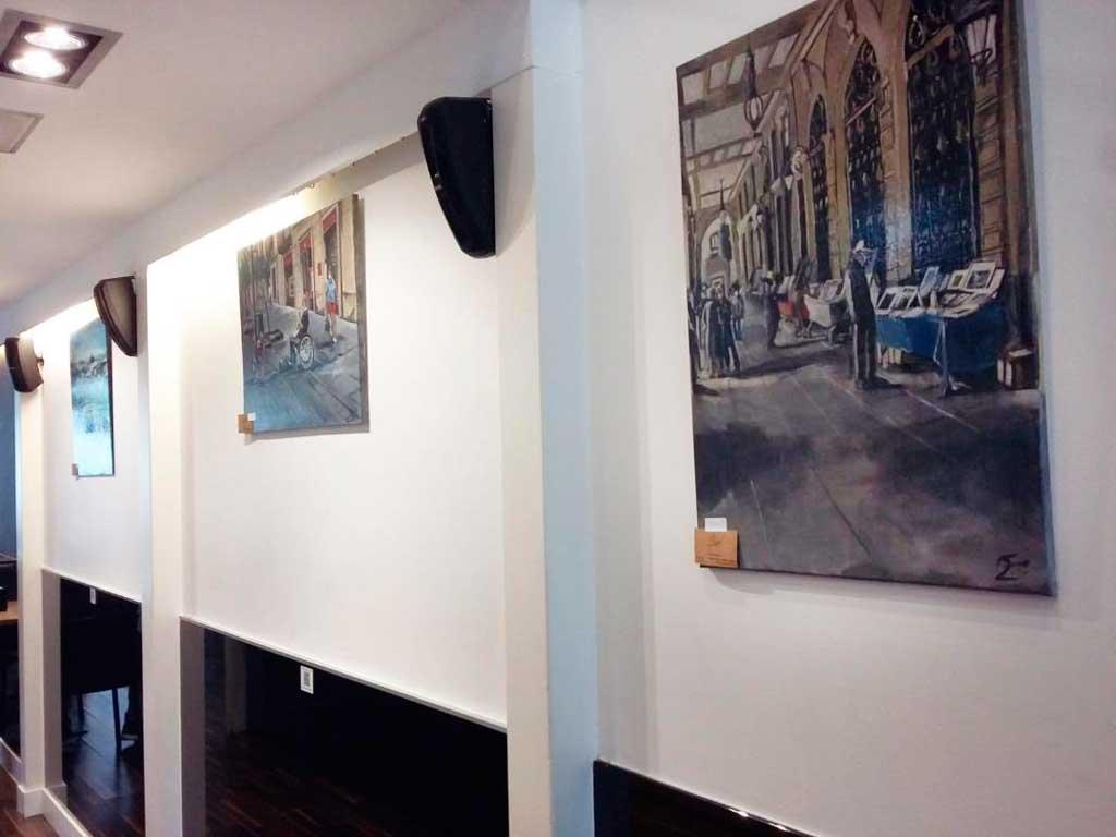 Exposición de Faouzi en el Bitácora