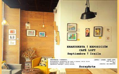 Soraya García en Cafe Loft kafetegian.