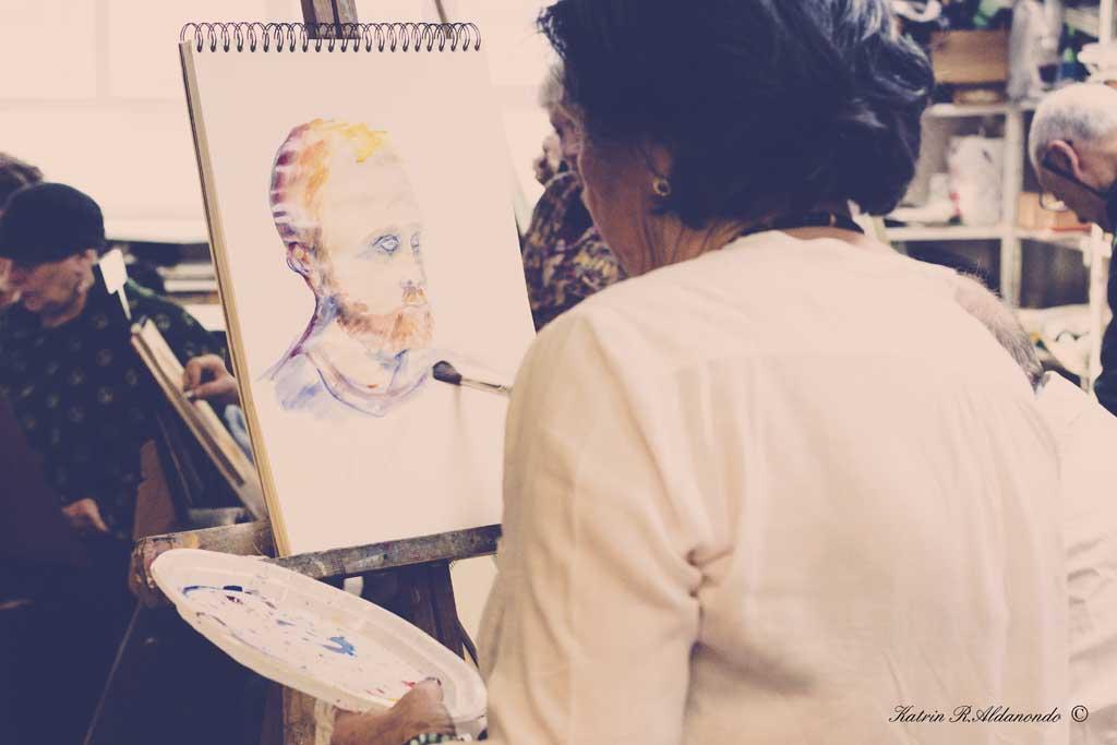 taller de retrato