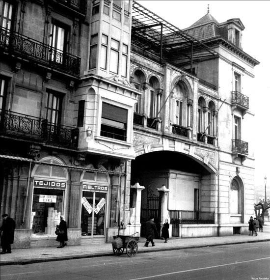 Antigua sede del Ateneo Guipuzcoano, en la calle Andia