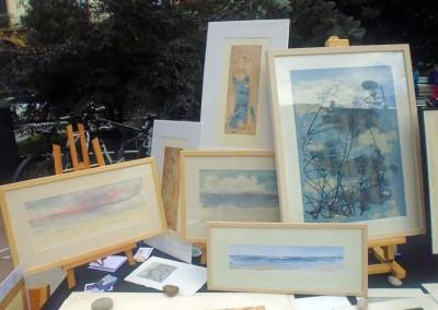 Maite Arrieta pintura grabado