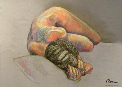 Dibujos de Jesús Roa. Donostia