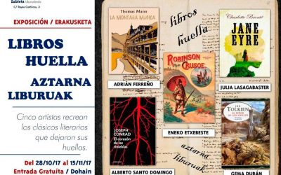 Exposición y recital 'Libros – Huella'