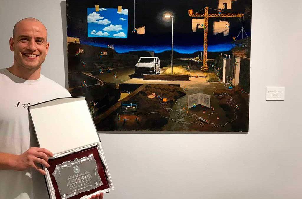 Carlos Gorospe: mejor artista jóven Adour 2020