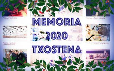Memoria 2020 de actividad anual de la AAG