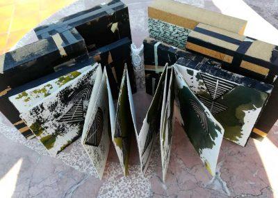 txus-sanz-18-Entre-muros-Grabados-madera-y-collage