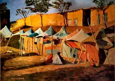 txus-sanz-2-Campamento-oleo-s-madera