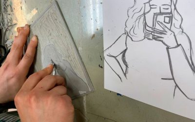 Exposición del taller de grabado