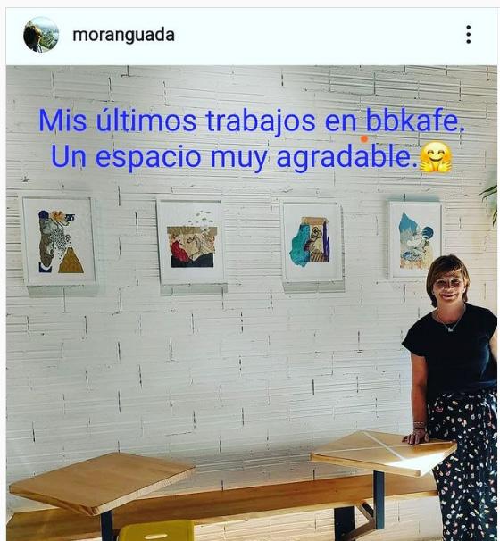 Guada Moran en bbkafe