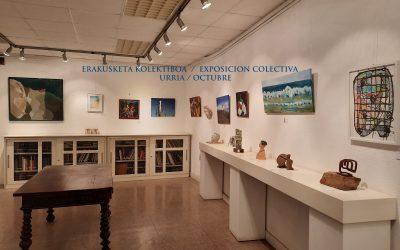 Bazkideen erakusketa kolektiboa / Exposición colectiva de soci@s. Urria 2021 Octubre.